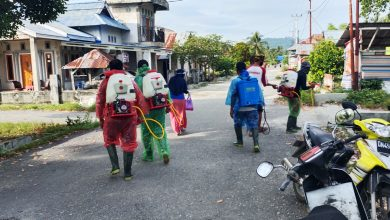 Photo of Pemerintah Desa Bega Aktifkan Kembali Penyemprotan Disinfektan