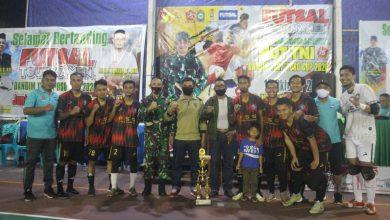 Photo of Team Tuna Pasepo Juarai Turnamen Dandim
