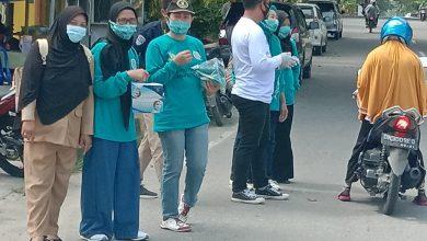 Photo of Sejumlah Elemen Di Poso Peringati Hari Pahlawan Dengan Bagikan Masker