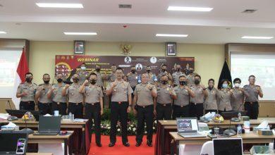 Photo of Webinar Sekolah Serdik Sespimma Polri Angkatan 64 Bahas Strategi Menghadapi Pandemi Covid-19
