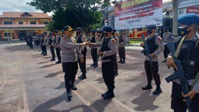 Photo of Puluhan Pasukan Brimob Back Up Pengamanan Pilkada Poso
